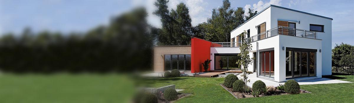 Hausbau zeichnung  Hausbau - Fertighaus und Massivhaus bei ImmobilienScout24