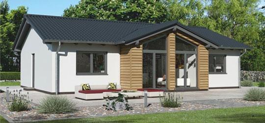 haus schl sselfertig bis 150 000 haus bauen bungalow schl. Black Bedroom Furniture Sets. Home Design Ideas
