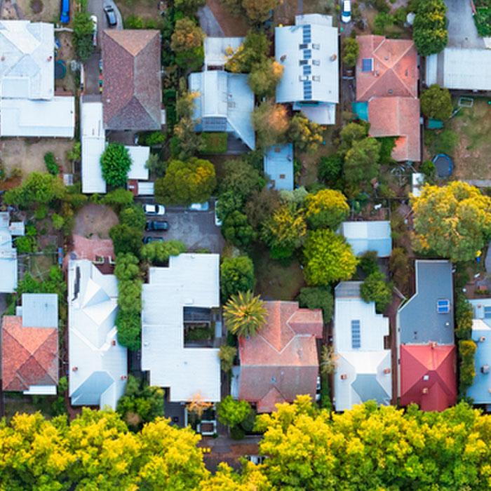 kleineres Grundstück - Abschlag