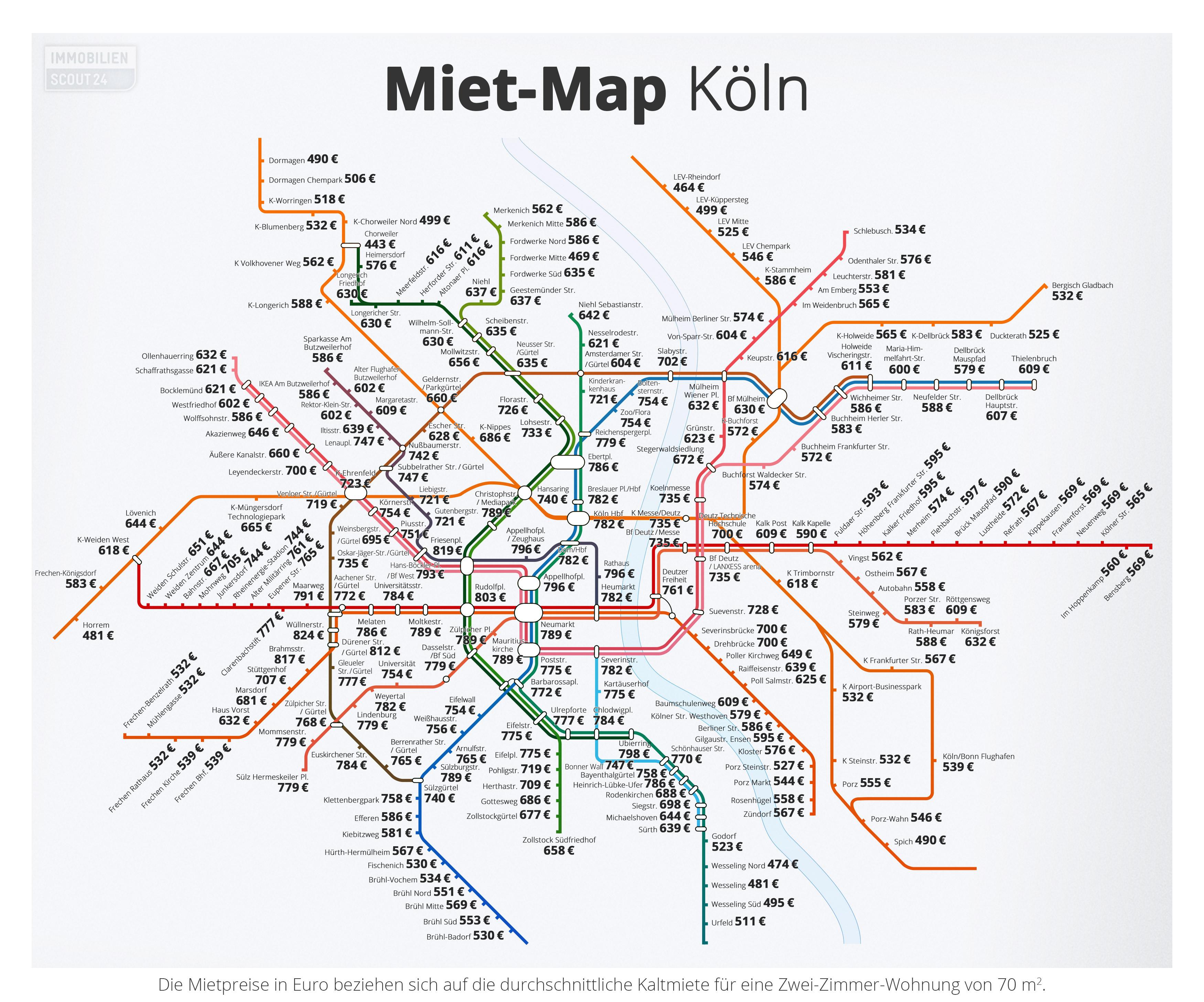 Miet-Map Köln