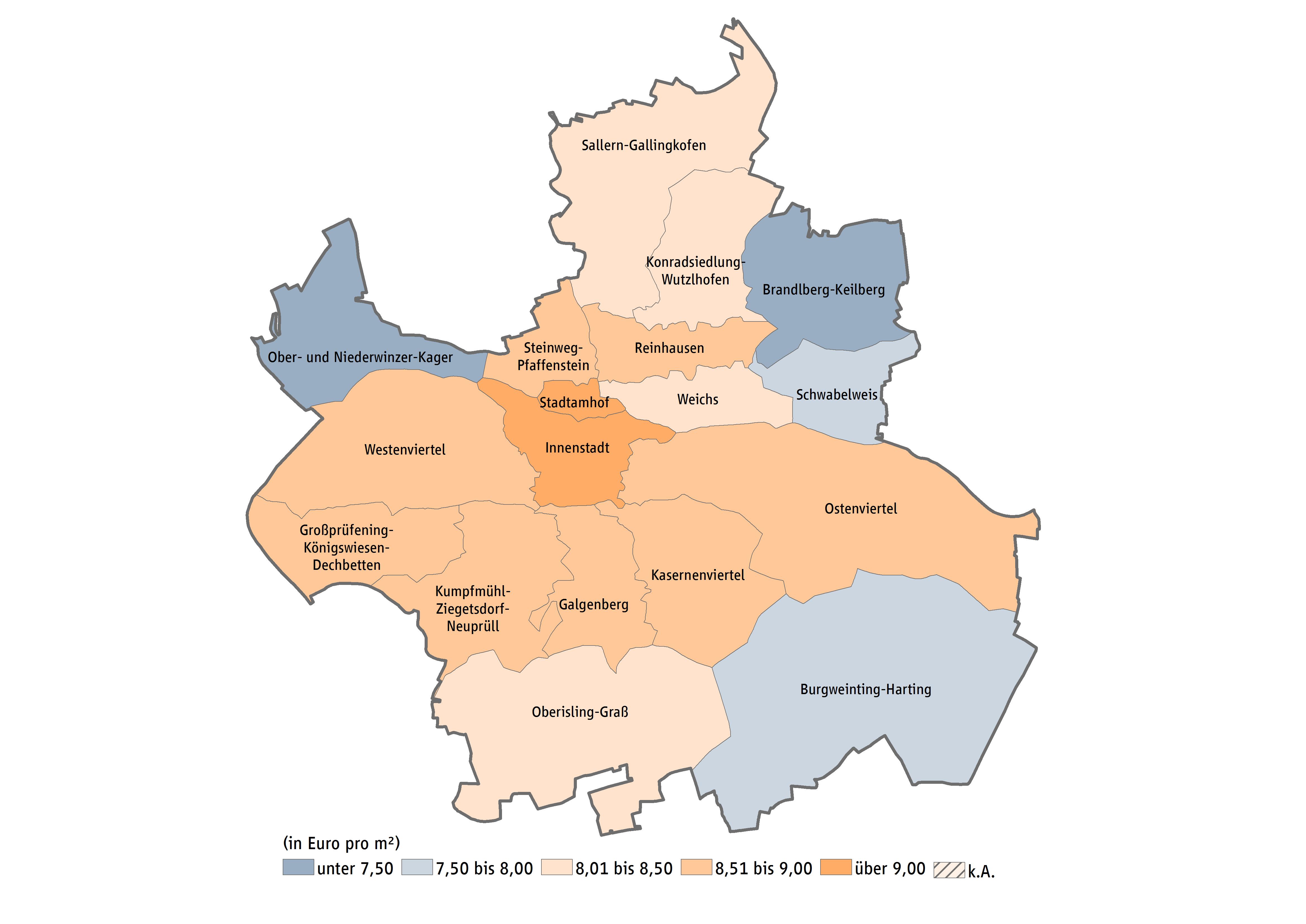 Stadtteile Regensburg