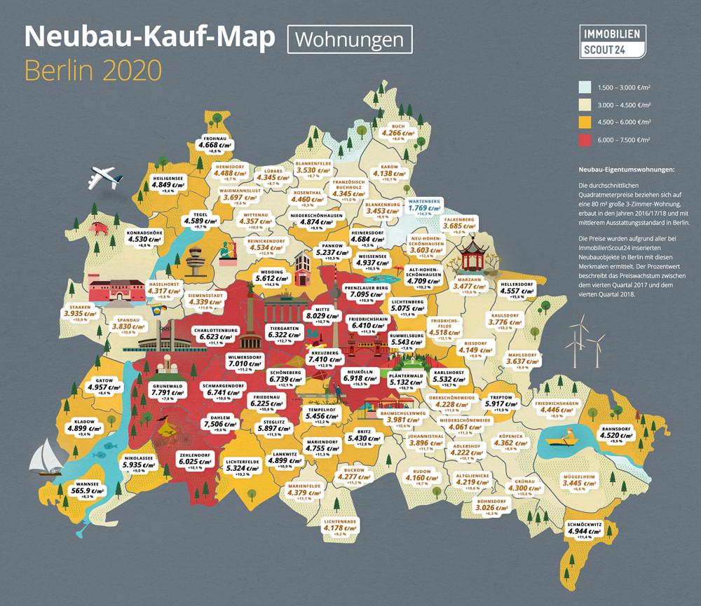 Neubau-Kauf-Map Wohnungen Berlin 2020