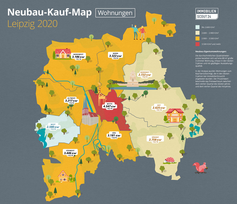 Neubau-Kauf-Map Wohnungen Leipzig 2020