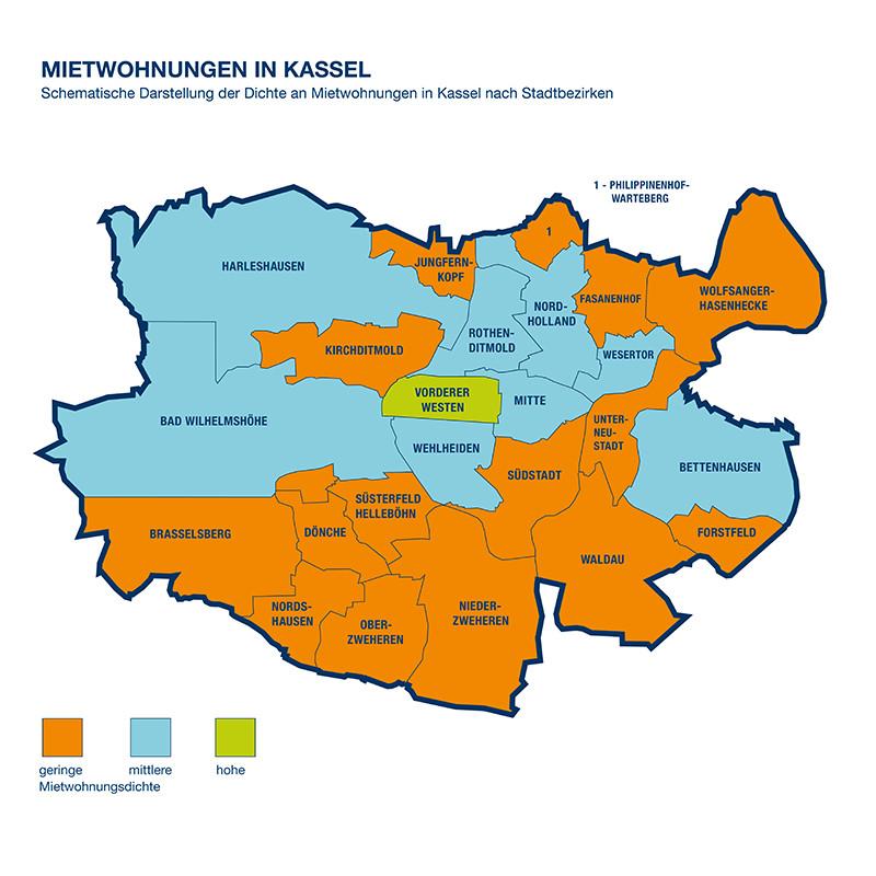 Karte Kassel Und Umgebung.Wohnung Mieten Kassel Immobilienscout24