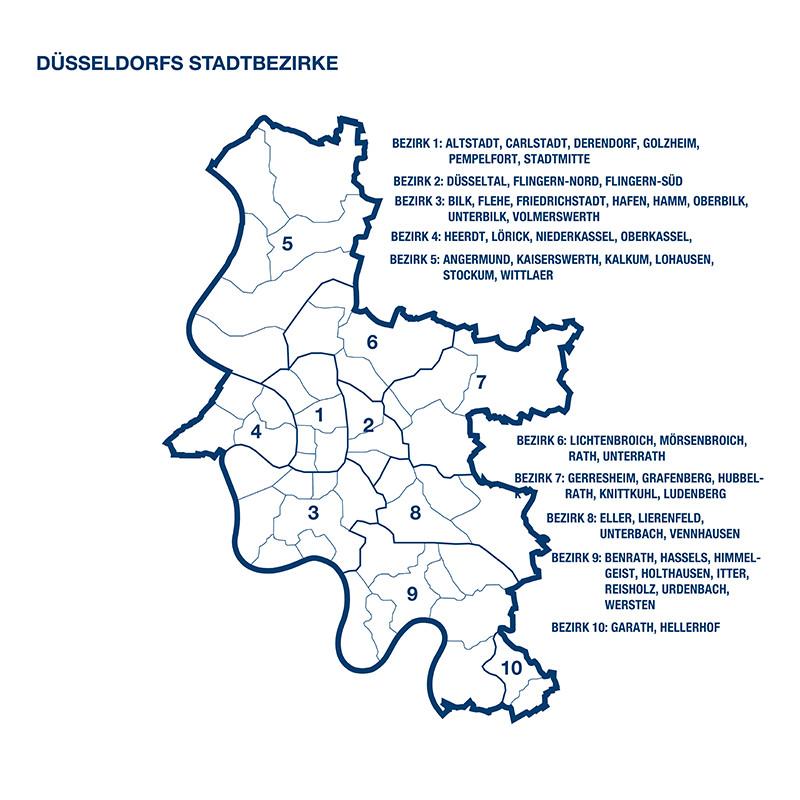 Düsseldorf Stadtteile Karte.Eigentumswohnung Düsseldorf Immobilienscout24