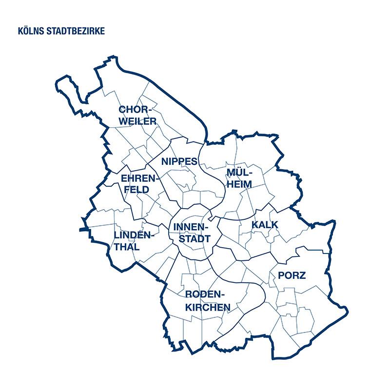 Kölner Stadtbezirke