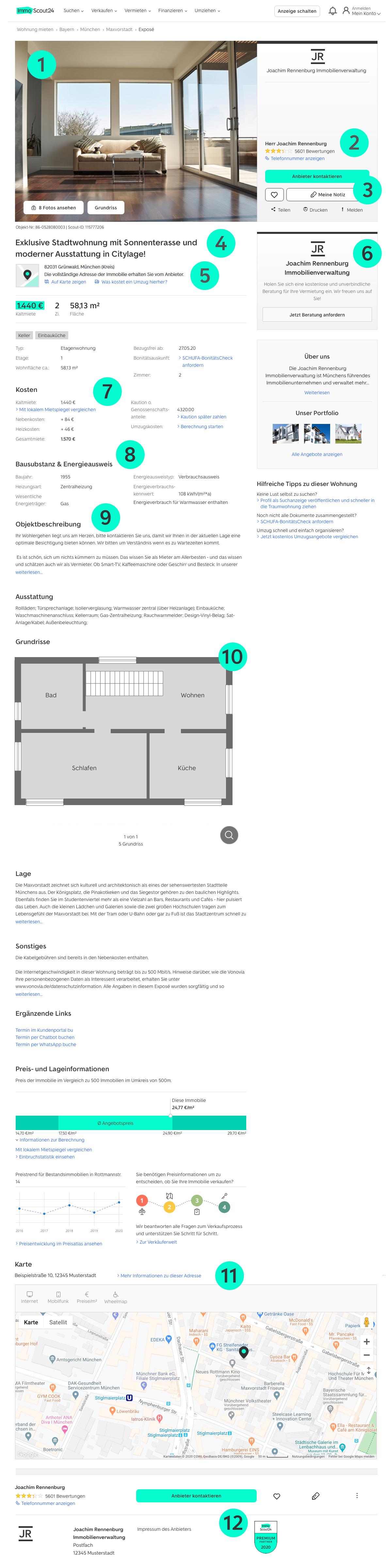 Expose Vorlagen Fur Immobilien Hauser Word