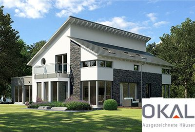 okal fertighaus energieeffizientes bauen und wohnen. Black Bedroom Furniture Sets. Home Design Ideas