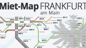 Miet-Map Frankfurt am Main