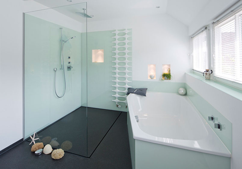 Ravello Steinteppich Dusche : Begehbare Dusche Offen : Bodengleiche Duschen – Moderne