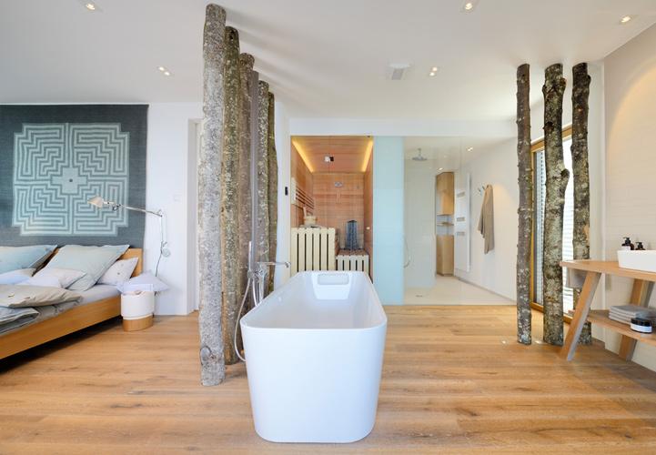 Inspiration Fürs Badezimmer Freistehende Badewannen - Whirlpool im wohnzimmer