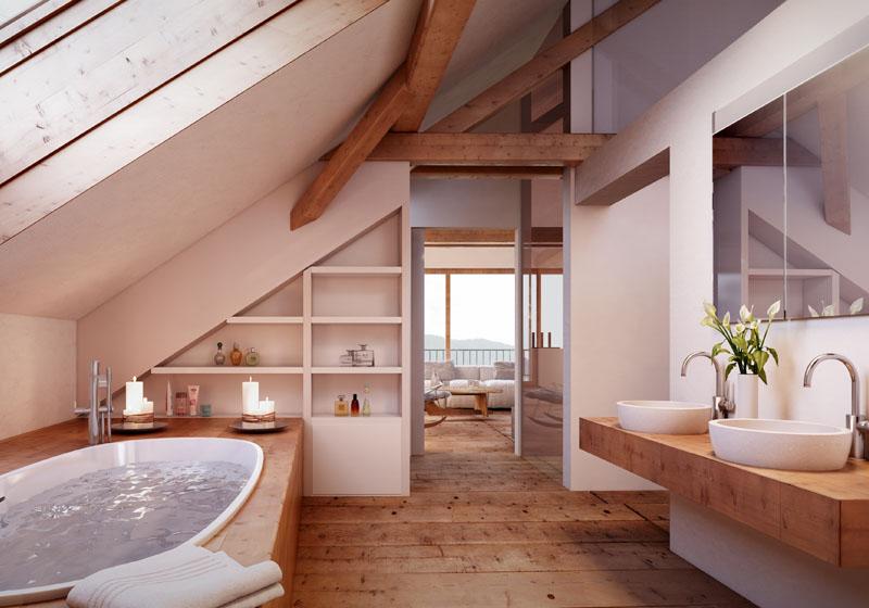 wellnessbereich zu hause die sch nsten einrichtungsideen. Black Bedroom Furniture Sets. Home Design Ideas